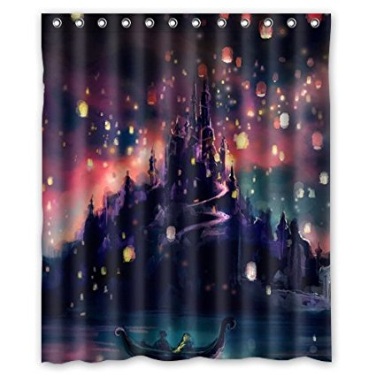 Five Unique Disney Inspired Shower Curtains We Love 3