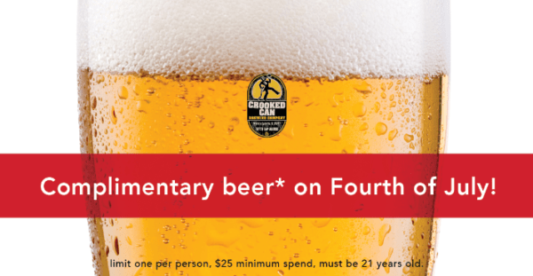Get a FREE BEER on the 4th of July in Disney Springs 1