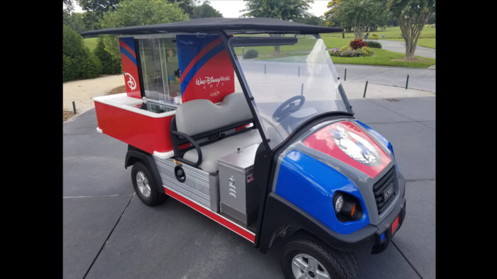 Refreshment Carts At Disney World Golf Courses Are Getting Character Makeovers 1