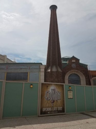 Photo Update on Construction of The Edison in Disney Springs 1