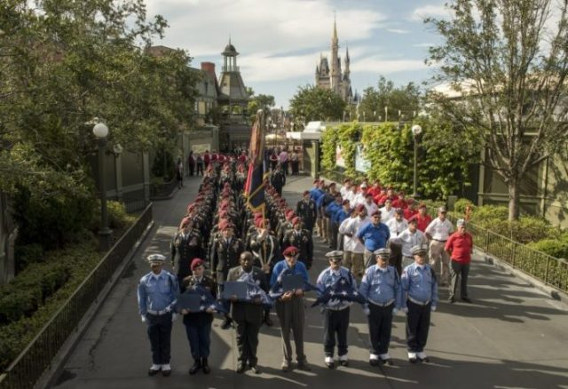Walt Disney World Honors U.S. Army's 82nd Airborne Division 4