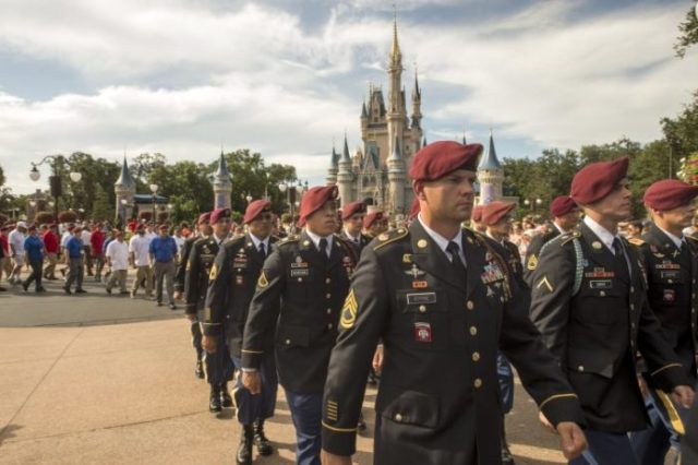 Walt Disney World Honors U.S. Army's 82nd Airborne Division 5