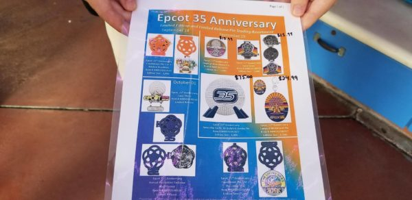 Limited Edition Magic Bands and Buttons for Epcot's 35th Anniversary 7