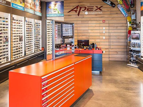 2003ceca4f You soon will be able to purchase your favorite pair of Oakley sunglasses  on your next visit to Disney Springs. APEX by Sunglass Hut in The Landing  area of ...