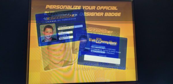 You Can Now Get Your Very Own Tomorrowland Speedway Driver's License 2