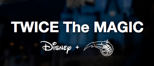 uk availability e9742 3c358 Receive a Free Orlando Magic Jersey with Walt Disney World ...