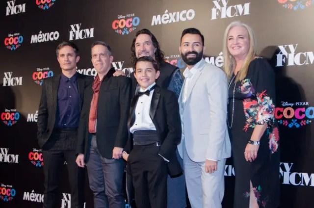 """Coco"" Filmmakers & Gael García Bernal Welcomed At Morelia International Film Festival 1"