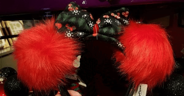 Ugly Christmas Sweater Minnie Ears