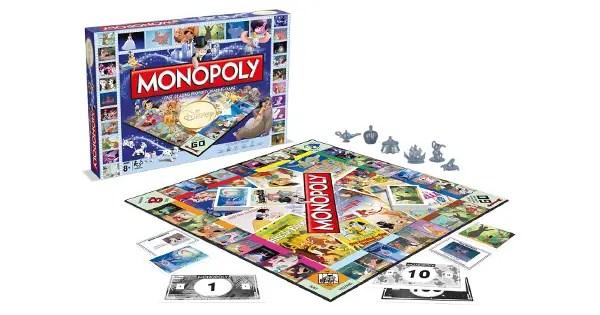 Classic Disney Monopoly Board Game