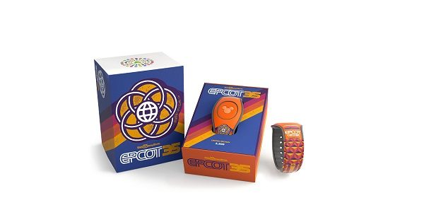 Epcot 35th Anniversary Limited Edition MagicBand 2
