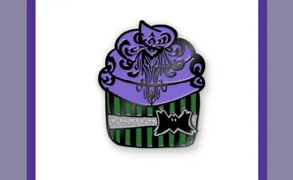 Haunted Mansion Cupcake Pin