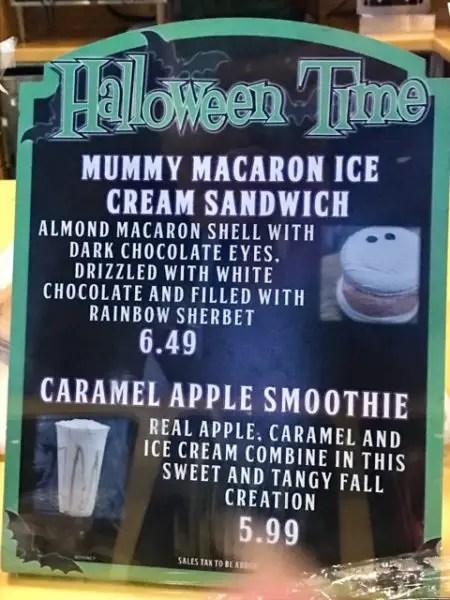 Disneyland's New Mummy Macaron Ice Cream Sandwich Will Chill You To The Bone 2
