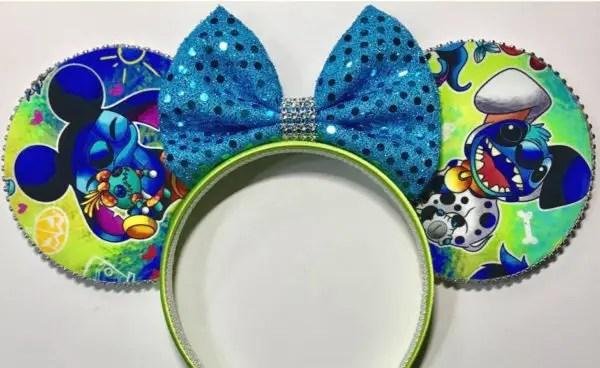 Mystery Costume Stitch Minnie Ears