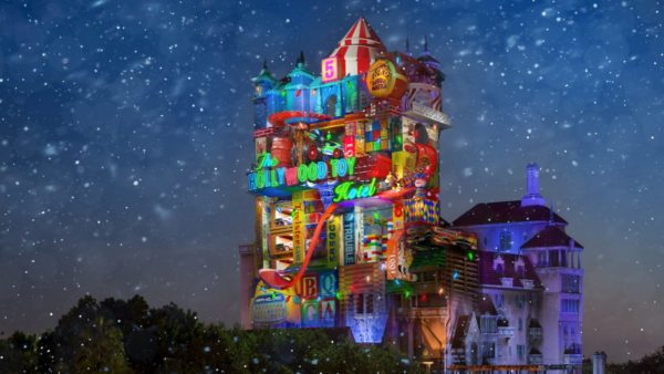 New Concept Art For Sunset Seasons Greetings at Hollywood Studios Released 1