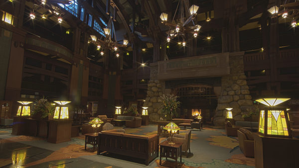 Get a Closer Look at the Grand Hall Lobby at Disney's Grand Californian Hotel & Spa at the Disneyland Resort 1