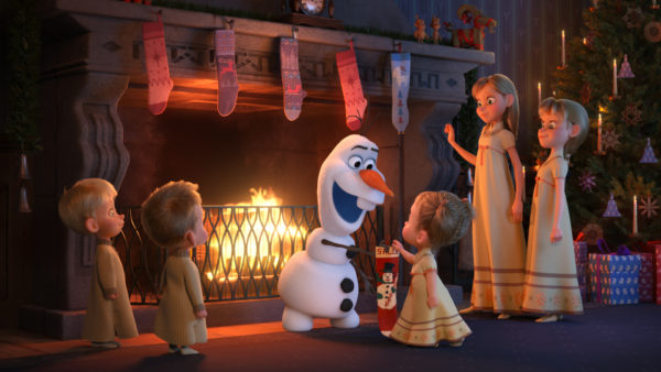 Celebrate the Holidays with Olaf's Frozen Adventure! 3