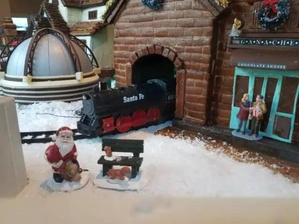 New Gingerbread Window Display at Amorette's Patisserie in Disney Springs 5