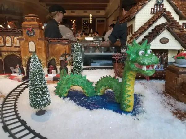 New Gingerbread Window Display at Amorette's Patisserie in Disney Springs 4