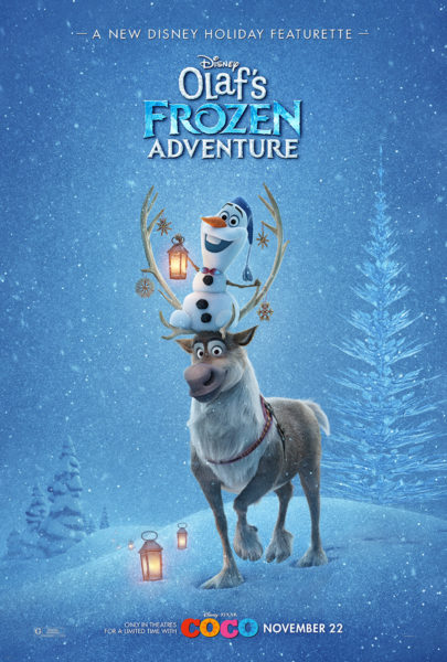 Celebrate the Holidays with Olaf's Frozen Adventure! 5