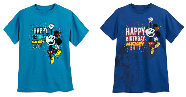 Happy Birthday Mickey Tees