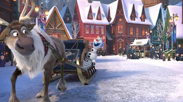Olaf's Frozen Adventure Hits UK Cinemas on November 25 & 26 1
