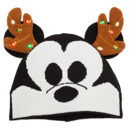 Mickey Mouse Holiday Light-Up Beanie