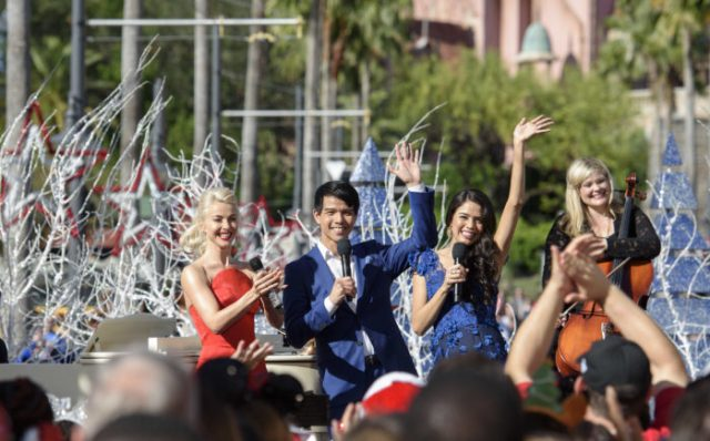 'Disney Parks Magical Christmas Celebration' Airs Christmas Morning With Celebrity Performances 8
