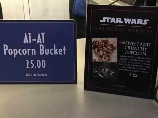 AT-AT popcorn bucket