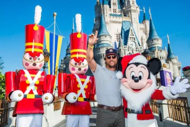 Disney World Matthew McConaughey