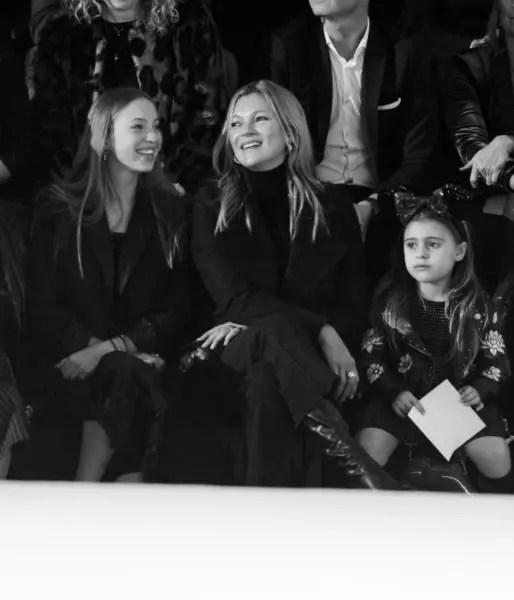 Kate Moss Attends NIKKIE x Disney Fashion Showcase at Disneyland Paris 1