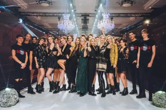 Kate Moss Attends NIKKIE x Disney Fashion Showcase at Disneyland Paris 2