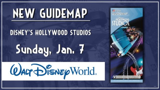 Updated Guidemaps Will Be Coming Soon to Hollywood Studios and Epcot 1