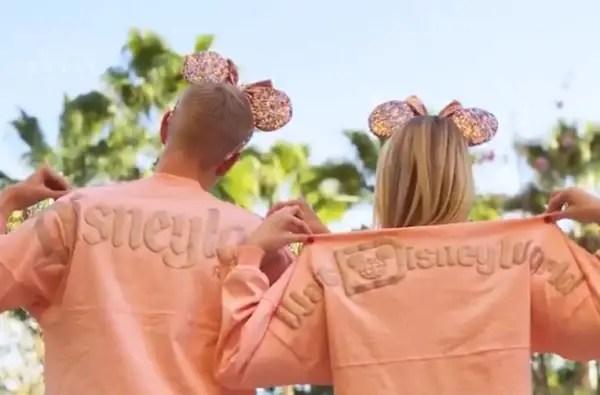 Rose Gold Disney Spirit Jerseys