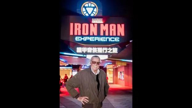 Stan Lee Takes On The Iron Man Experience At Hong Kong Disneyland 1