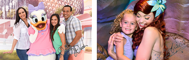 Celebrate National Handwriting Day by Adding Disney Character Signatures to your PhotoPass Photos 3