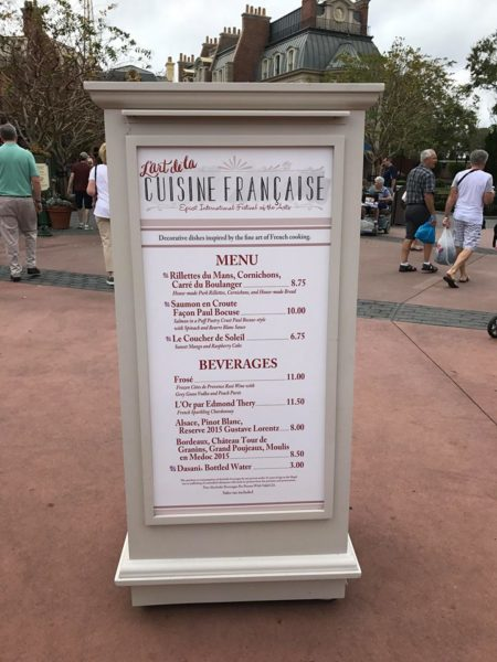 PHOTOS: 2018 Epcot International Festival of the Arts Booths, Menus and Food 63