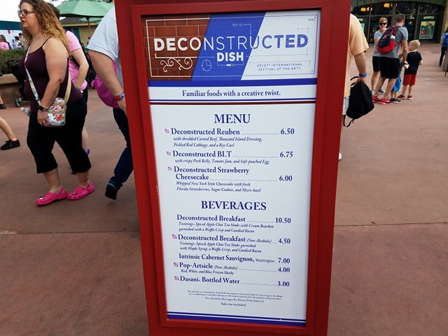 PHOTOS: 2018 Epcot International Festival of the Arts Booths, Menus and Food 81