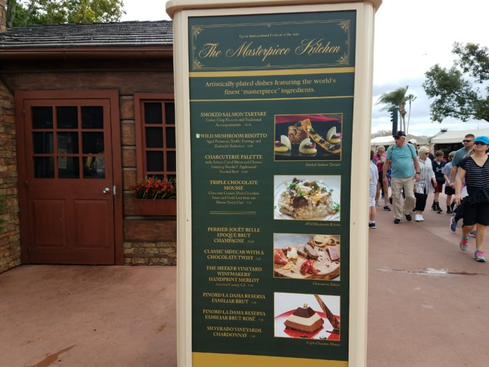 PHOTOS: 2018 Epcot International Festival of the Arts Booths, Menus and Food 72