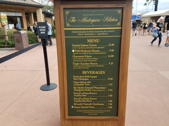 PHOTOS: 2018 Epcot International Festival of the Arts Booths, Menus and Food 73