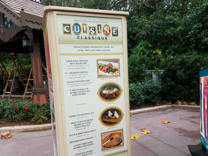 PHOTOS: 2018 Epcot International Festival of the Arts Booths, Menus and Food 48