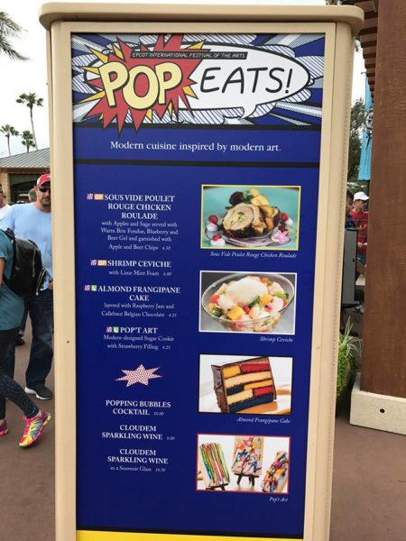 PHOTOS: 2018 Epcot International Festival of the Arts Booths, Menus and Food 12