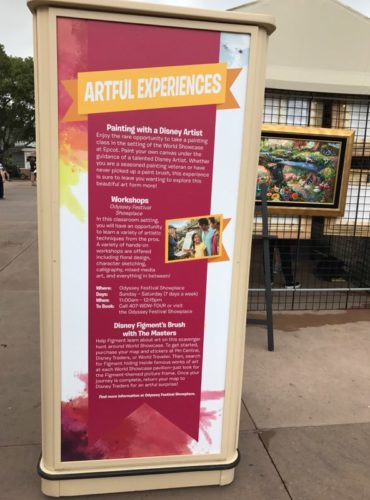 The Art and Decorations of Epcot's International Festival of the Arts 17