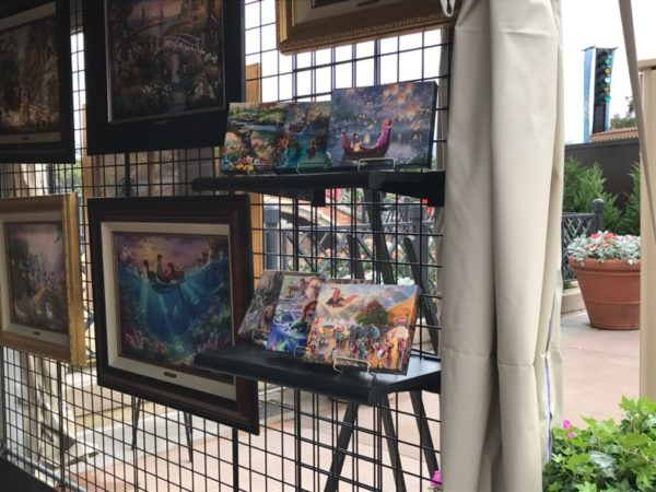 The Art and Decorations of Epcot's International Festival of the Arts 21