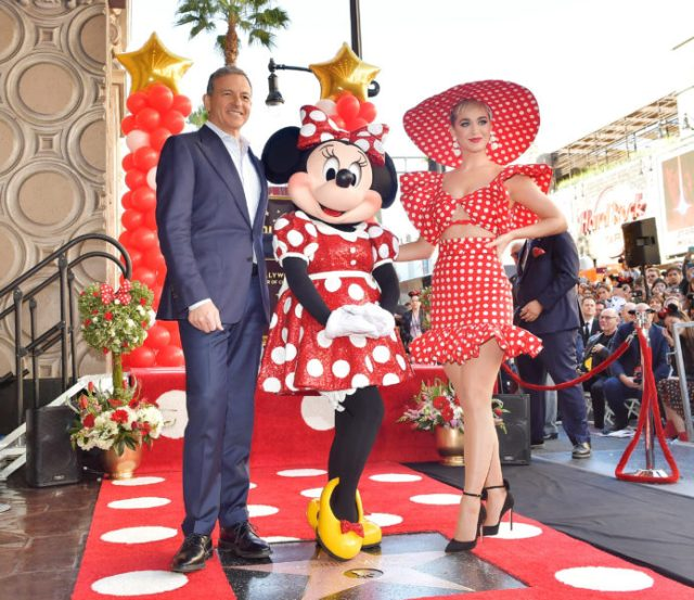 Minnie Mouse Receives Her Star on the Hollywood Walk of Fame 2