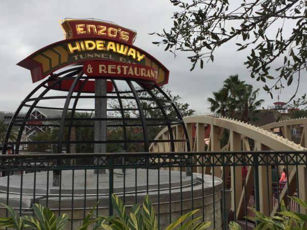 New: Enzo's Hideaway Tunnel Bar at Disney Springs 1