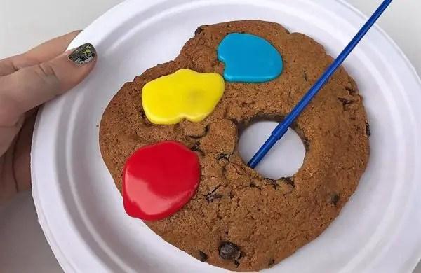 Artist's Palette Cookie
