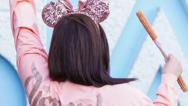 Rose Gold Churro Now at Disneyland 1