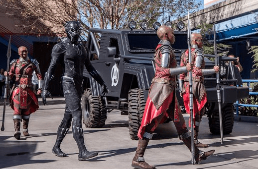 Black Panther is Now Making Appearances at Disney California Adventure Park 1