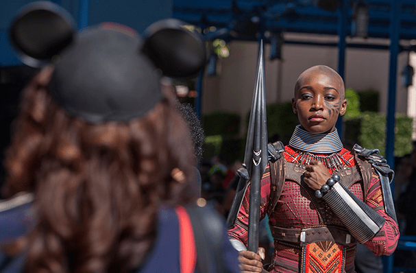 Black Panther is Now Making Appearances at Disney California Adventure Park 3
