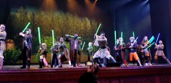 Jedi Training: Trials of the Temple - Star Wars Day at Sea – Disney Cruise Line 2
